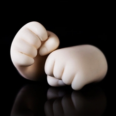 1/6 bjd fist hands (Starry body)