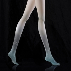 Add one pair of transparent high heel leg