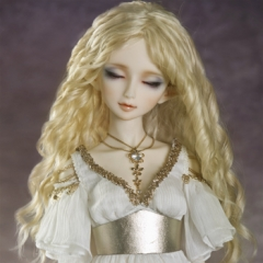 1/3 Bohemia golden wavy hair