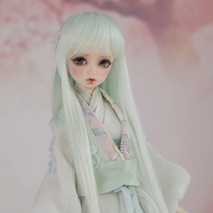1/4 Bjd Mid-Long Hair/Green