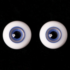 18MM Ice-blue eyeballs