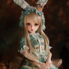 1/4 Bjd Female Mori Dress Fullset/Lin