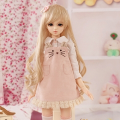 1/4 girl kitty suspender skirt fullset