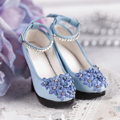 1/3 Dreamy high heels/deep blue