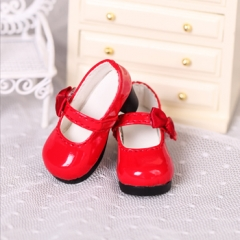 1/6 baby little red shoes
