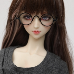 1/3 youth retro round frame glasses