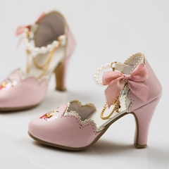 1/3 BJD Youth Star Shoes -pink