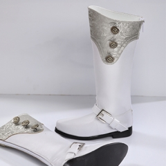 70+ MALE EURO WHITE LONG BOOTS