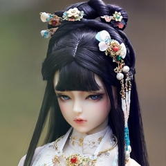 1/3 Female Liu Rushi ancient headwear