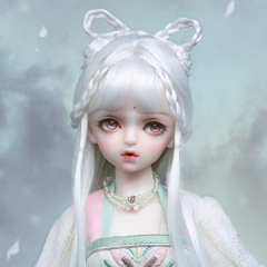 1/4 Jade Rabbit white hair