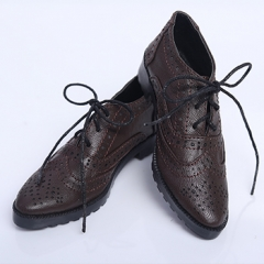 70+ Military style leather shoes