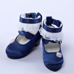 Navy princess shoes of Sesame Noodle (Food court collection)
