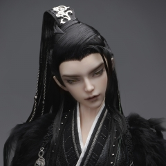 1/3 70cm+ Ancient style hair with widow's peak (Fantasy)